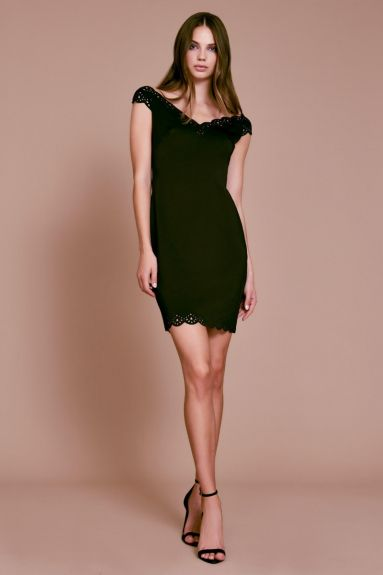 SHO The Label - Lindsay Neoprene Mini Dress