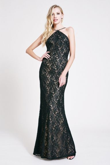 SHO The Label - Natalia Lace Maxi Dress
