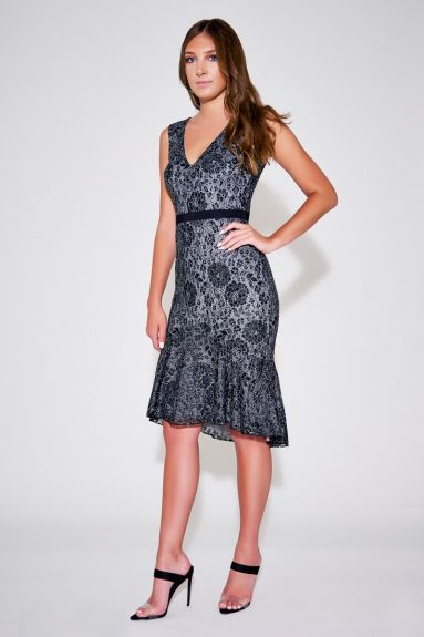 SHO The Label - Whitney Floral Lace Dress