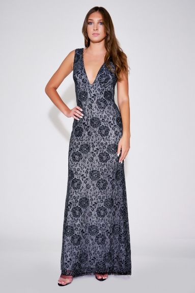 SHO The Label - Teena Floral Lace Gown