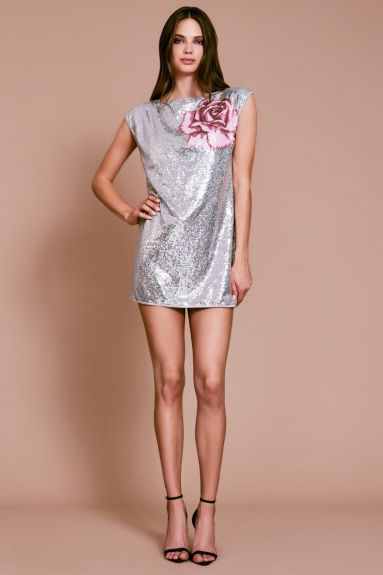SHO The Label - Coco Sequin Off-the-Shoulder Mini Dress