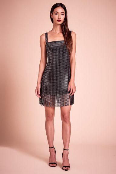 SHO The Label - Jimi Metallic Jersey Mini Dress