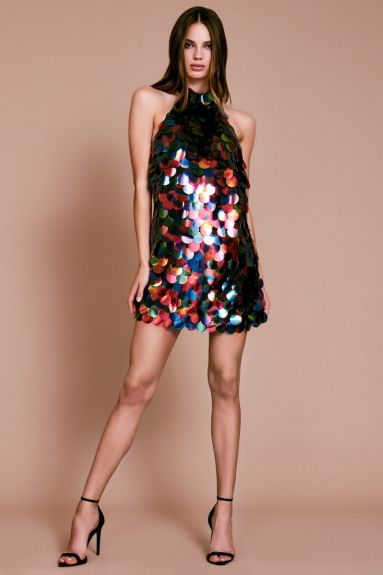 Marisa Halter Sequin Mini Dress