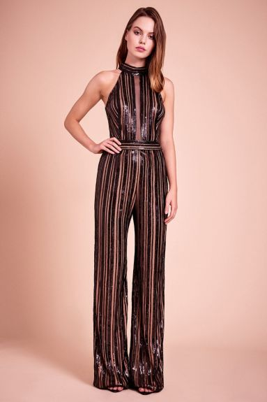 SHO The Label - Houston Halter-Neck Jumpsuit