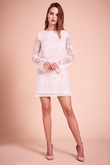 SHO The Label - Donna Flared Sleeve Mini Dress