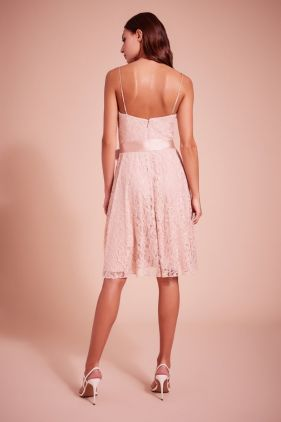 Kendall Strap Lace Cocktail Dress